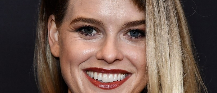 Alice Eve attends the HFPA's and InStyle's